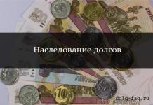 Ответственность наследников по долгам наследодателя